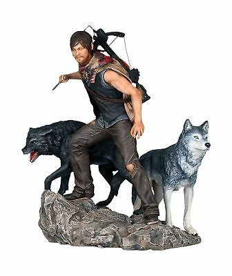 The Walking Dead Daryl Dixon & Wolves Gentle Giant Limited Edition Statue