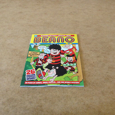 Beano Activity Summer Special 2018 Stickers Puzzles Denise The Menace Gnasher