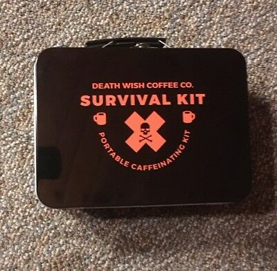 Death Wish Coffee Co Lunchbox RARE!