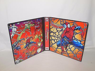 Custom Made The Amazing Spider Man Trading Card Album Binder Graphics Only