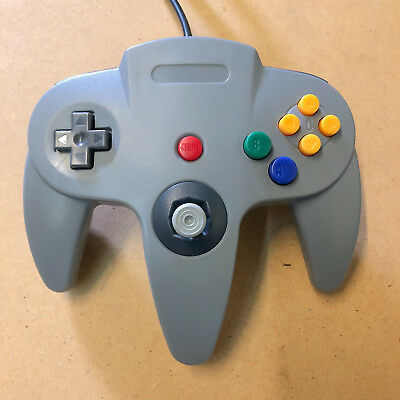 Nintendo 64 Controller Remote for N64 Gray Grey Brand New - Ships With Tracking