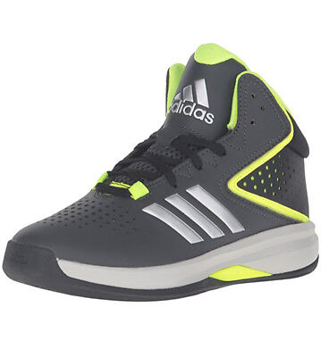 sale retailer af412 7bdaf Adidas Cross Em Up 2016 K Grey Silver Black Basketball Shoes 10.5 (B42787