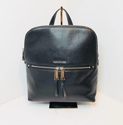 a0d037dae96f MICHAEL KORS RHEA Medium Slim Backpack Black -  160.00