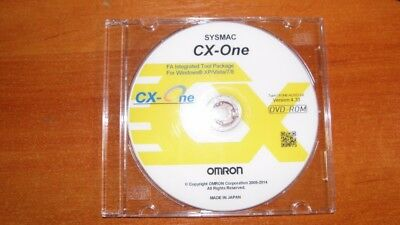 Industrial Controls PLC software OMRON CX-One ver 4.4. w/ CX-Programmer ver 9.6