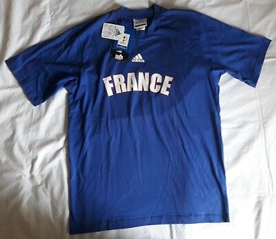 check out ca7d5 c876b VINTAGE FRANCE ZIDANE #10 football t- shirt soccer jersey, Adidas, Size M,  BNWT