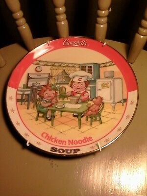 "Danbury Mint ""Campbell's Kids"" Chicken noodle Soup Collector Plate"