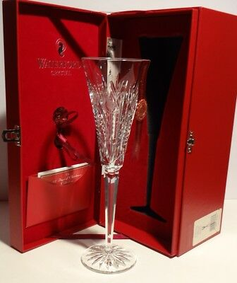 WATERFORD CRYSTAL 12 DAYS of CHRISTMAS PARTRIDGE FLUTE 1st edition ~ IN BOX