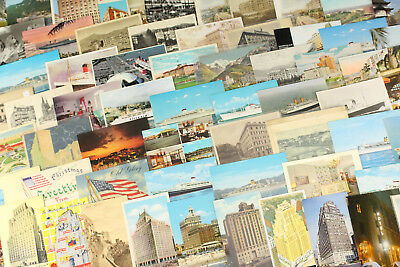 Lot 75 Unused Postcards World Hotels Cruise Liners Italy Ny Tokyo