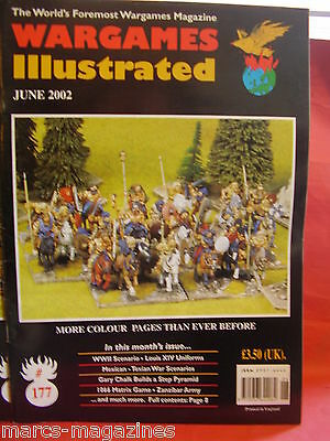Wargames Illustrated # 177 June 2002 Louis Xiv Uniforms Zanzibar Army Texian War