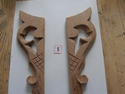 Clock Wooden Carved Ears