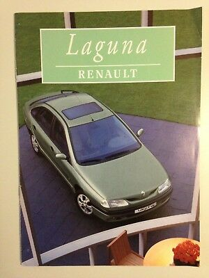 Catalogue Brochure Renault Laguna 1997