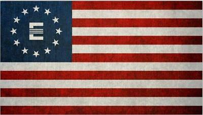 Enclave Fallout Flag 100D Polyester 3x5 Feet Game Banner Home Decoration Tool