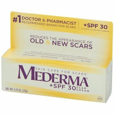 Mederma Scar Gel Skin Care For Injury Surgery Burns - SPF 30, 0.7oz