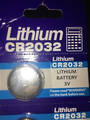 1 X CR2032 3V Volt High Quality Button Coin Cell Li-ion Battery for Watch Toy