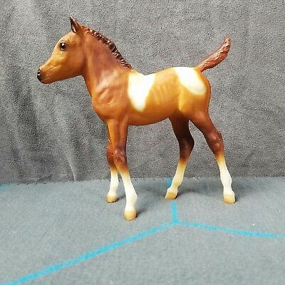 """Breyer Traditional Size Mold """"Sea Star"""" Scribbles Paint Horse Foal Model Toy"""