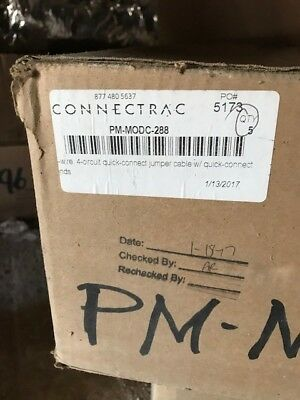 Connectrac PM-MODC-288 4 Circuit Quick Connect Brand New
