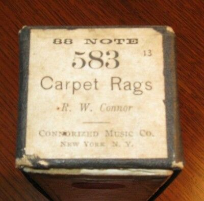Carpet Rags Original Piano Roll 0718