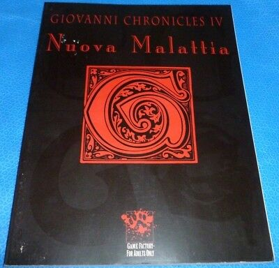 Vampire The Masquerade Giovanni Chronicles IV - VTM Sourcebook  OOP
