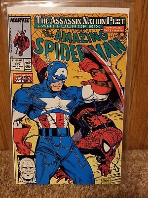 The Amazing Spider-Man #323 (Nov 1989, Marvel) VG