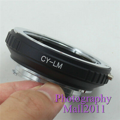 CY to LM Adapter for Yashica Contax C/Y Lens to Leica M7 M6 M5 TECHART LM-EA7