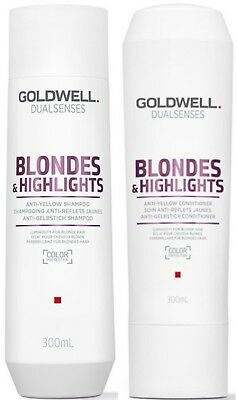 Goldwell Dualsenses Blonde & Highlights Shampoo 300 Ml And Conditioner 300 Ml