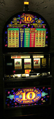 IGT S2000 Ten Times Pay Coin Slot Machine B4933CFIW