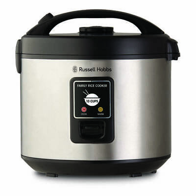 NEW Russell Hobbs RHRC1 10 Cup Rice Cooker By Spotlight