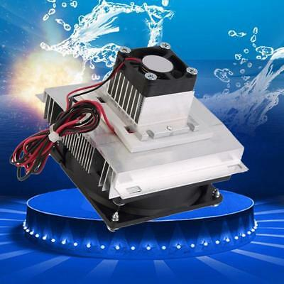 Semiconductor Refrigeration Cooler Fan Cooling System  Kit Without TEC112706!