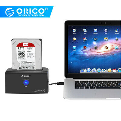 """ORICO 8TB 2.5"""" 3.5"""" USB3.0 to SATA Hard Drive Docking Station For HDD SSD 5Gbps"""