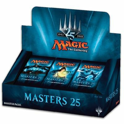 Magic The Gathering MTG Masters 25 Booster Box Display 24 Boosters
