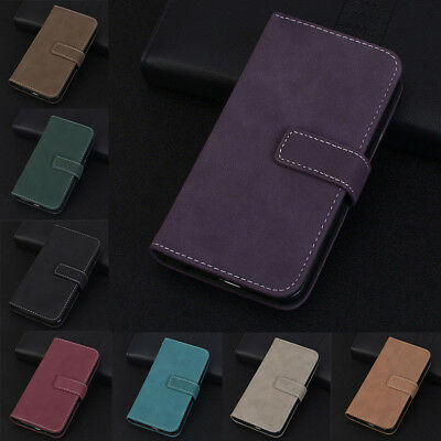 Magnetic 9 Card Slot Wallet Flip Leather Case Cover For Samsung A3/A5/A7/A8 KU