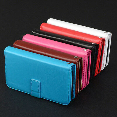 Magnetic 9 Card Slot Leather Flip Wallet Case Cover For Huawei Y3/Y5 II Y7 G7 KU