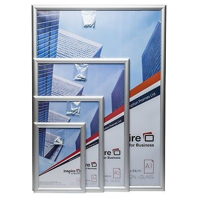 Snap Poster Certificate Picture Photo Frames in Silver or Black in A1 A2 A3 A4