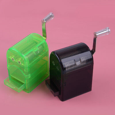 Muller Shredder Smoking Grinder Case Hand Crank Crusher Tobacco Cutter 2 colors