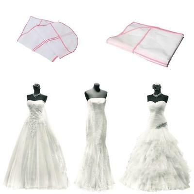 Hot Big Breathable Garment Storage Bags For Bridal Gown Wedding Dress Dust Cover