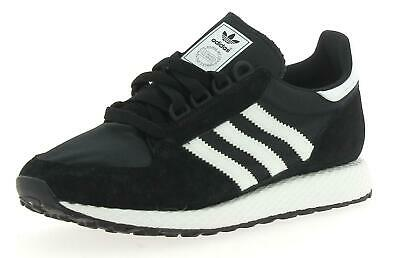 best service c36f4 b1871 ADIDAS Forest Grove Black Mens Sports Shoe B41550