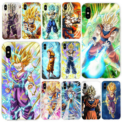 Dragon Ball Z Goku TPU Phone Case Cover For iPhone X 6/7/8 Plus Drop Protection