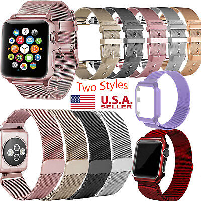 Milanese iWatch Band Strap Stainless Steel Watch Band For Apple Watch 38mm 42mm