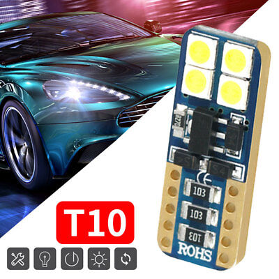 T10 8smd 3030 LED Car Reading Light 12V 4W 480LM Interior Decoding Durable
