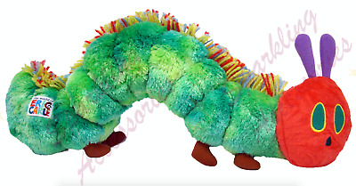 NEW Eric Carle Very Hungry Caterpillar Beanie Plush Soft Bean Toy FREE AU POST!
