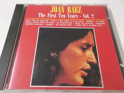 43057 - Joan Baez - The First Ten Years Vol. 2 - Cd Album Made In Italy