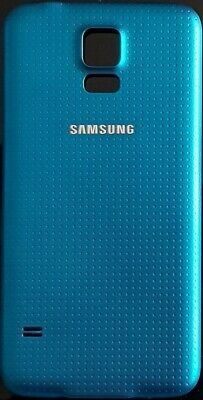 Official Genuine Samsung Galaxy S5 SM-G900 Battery Back Cover Replacement Blue