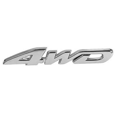 4WD V6 V8 3D Chrome Car Vehicle Tailgate Sticker Trunk Lid Emblem Badge Decal