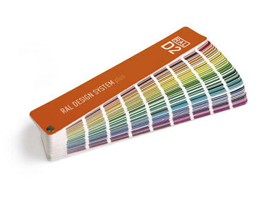 RAL D2 Design guide - 1825 colours. Includes the new 200 Design Bright colours.