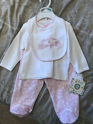 baby girl set 3-6 months