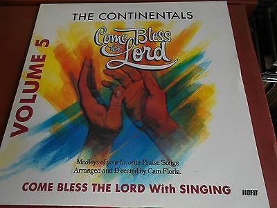 The Continentals: Come Bless The Lord: Vinyl Lp Made In The U.k.: 1989