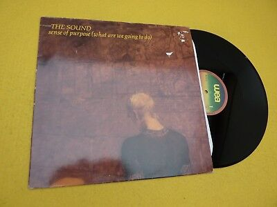 The Sound–Sense Of Purpose (What Are We Going To Do) (EX-/EX+) 1981 LP ç