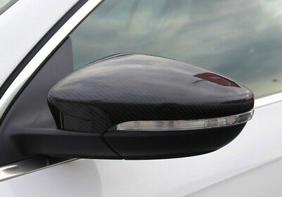 VW Scirocco Carbon Fibre Effect Wing Mirror Covers GTI GT TDI 2010-2016
