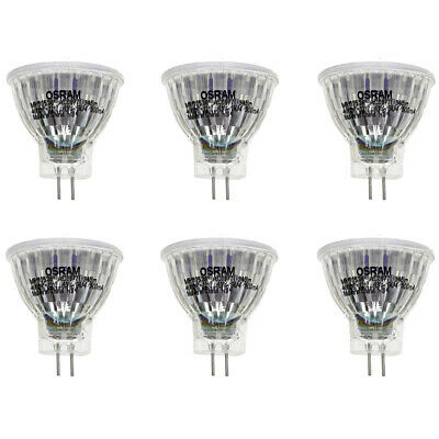 OSRAM LED STAR GLAS MR11 GU4 4W=35W 345 lm 36° neutral white 4000K nondim A+ 6er