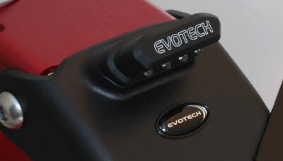 Evotech Light License Plate Led For Motorcycle Scooter Universal
